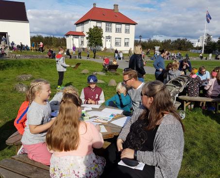 Árbæjarsafn; Árbær Open Air Museum Reykjavík Iceland
