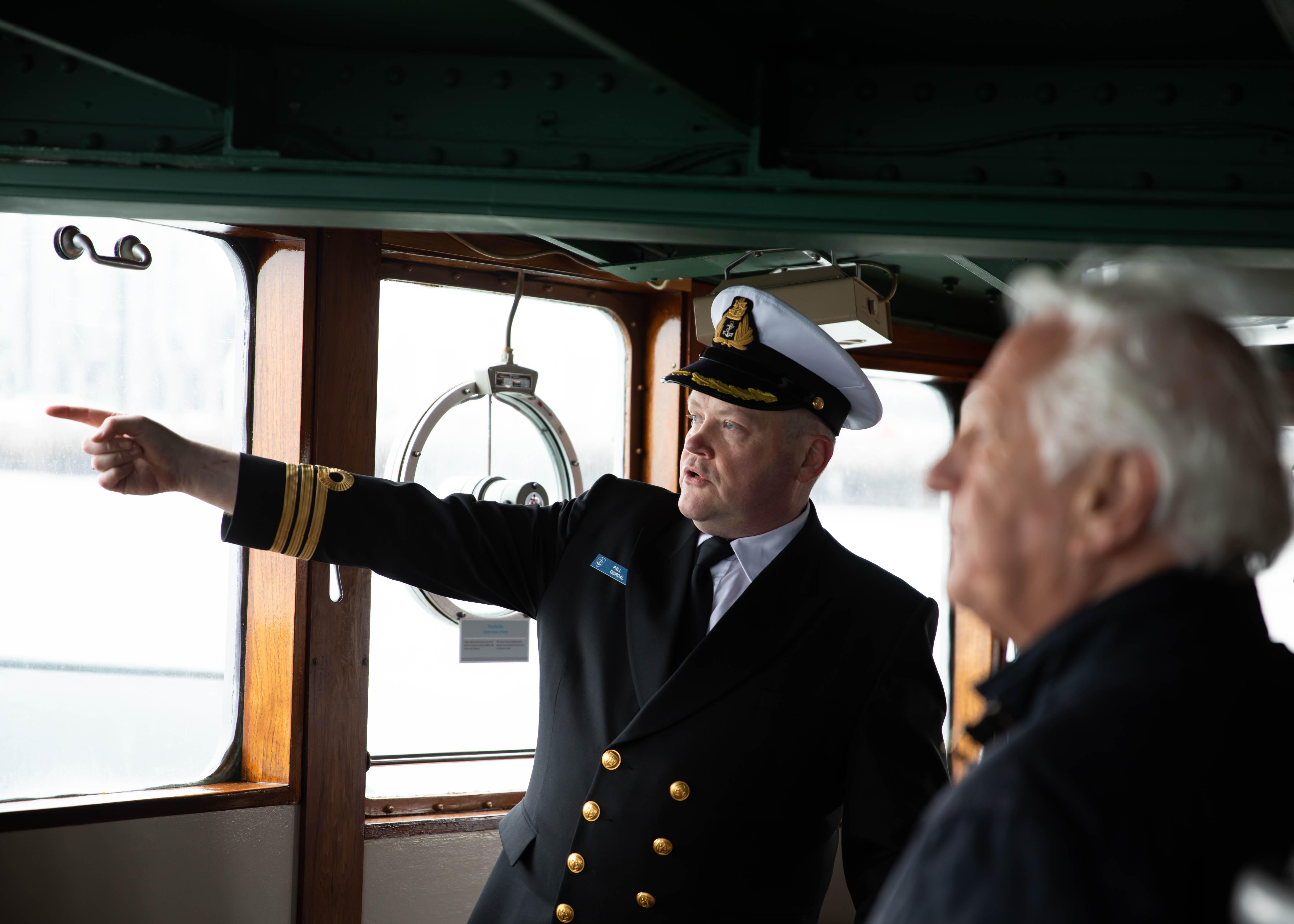 Kapteinninn og formaðurinn